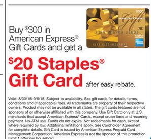 staples_AMEX_gift_card_promotion_with_easyrebate