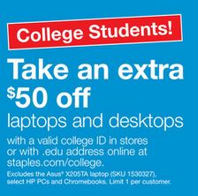 staples_discount_for_college_students_on_computer_purchase