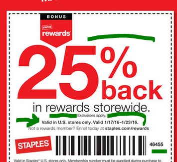 staples print and copy coupon code