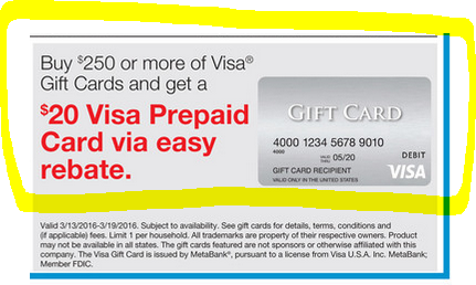 buy visa prepaid card
