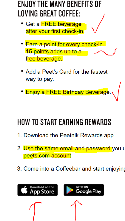 Peets Launches Peetnik Rewards App More Widely With Googleplay And Ios