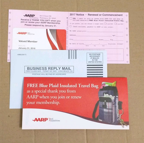 Free Insulated Travel Bag With 1 Year Aarp Membership For