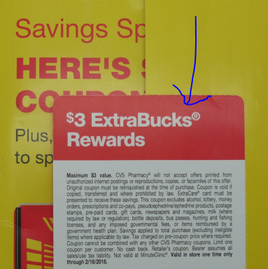 Cvs coupon booklet in the mail today:: wral. Com.